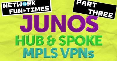 HUB-AND-SPOKE MPLS L3VPNs – ADVANCED CUSTOMISATION, ON JUNIPER JUNOS ROUTERS