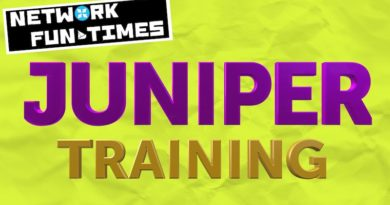 I HAD FUN ON JUNIPER'S SUBSCRIBER MANAGEMENT COURSE!